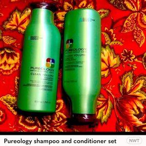 Pureology shampoo and conditioner set